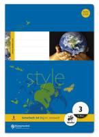 Heft LIN3 A4 16 Blatt 80g qm 21 Doppellinien