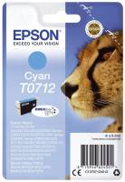 EPSON Inkjetpatrone T0712 cyan C13T07124012 5,5ml