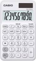 CASIO Taschenrechner 10-stellig weiß SL-310UC-WE