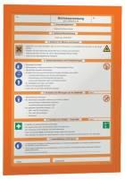 Magnetrahmen DURAFRAME A4, 322 x 236 mm, orange®