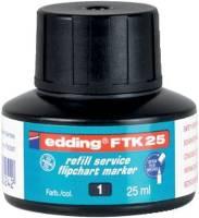 EDDING Nachfülltusche FTK25 schwarz 4-FTK25001