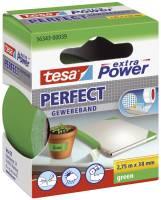 Gewebeklebeband extra Power Gewebeband, 2,75 m x 38 mm, grün