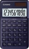 Taschenrechner SL 1000 Solar Batteriebetrieb, 10stellig, LC Display, dunkelblau