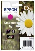 EPSON Inkjetpatrone Nr. 18 magenta C13T18034012 3,3ml