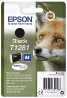 EPSON Inkjetpatrone T1281 schwarz C13T12814012 5,9ml