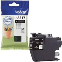 BROTHER Inkjetpatrone schwarz LC3217BK