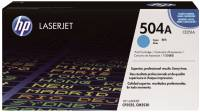 HP Lasertoner Nr. 504A cyan CE251A