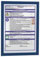 Magnetrahmen DURAFRAME A4, 322 x 236 mm, dunkelblau®