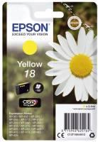 EPSON Inkjetpatrone Nr. 18 yellow C13T18044012 3,3ml