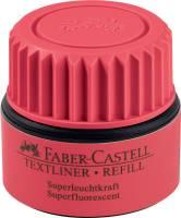FABER CASTELL Nachfüllflasche rot 154921