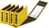 Bankordner Color Einband A5 , 50 mm, Color Einband, gelb