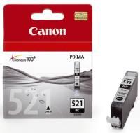 CANON Inkjetpatrone CLI-521 schwarz 2933B001 9ml