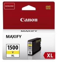 CANON Inkjetpatrone PGI-1500XLY yellow 9195B001