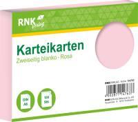 RNK Karteikarte A6 100 ST rosa 114763 blanko