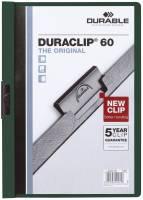 Klemm Mappe DURACLIP 60, DIN A4, petrol dunkelgrün®