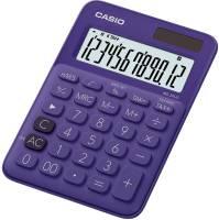 CASIO Tischrechner 12-stellig lila MS-20UC-PL