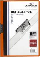 DURABLE Klemmmappe Duraclip A4 orange 2200 09 30BL