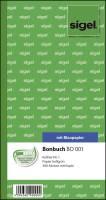 Bonbuch Kellner Nr 1 , 360 Abrisse, BL, hellgrün, 105x200 mm, 2 x 60 Blatt