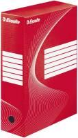 Archiv Schachtel DIN A4, Rückenbreite 10 cm, rot