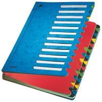 5914 Deskorganizer Color 1 24 24 Fächer, Karton, blau
