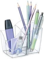 CEP Schreibköcher Ellypse 340 glasklar 1003400111