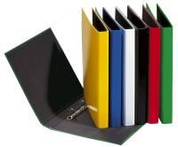 Ringbuch Basic Colours A4, 2 Ring, Ring Ø 20mm, gelb