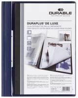 Angebotshefter DURAPLUS DE LUXE, strapazierfähige Folie, A4, dunkelblau®