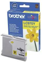 BROTHER Inkjetpatrone yellow LC970Y