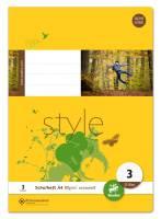 Heft LIN3 A4 32 Blatt 80g qm 21 Doppellinien