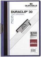 DURABLE Klemmmappe Duraclip A4 dunkelblau 2200 07 30BL