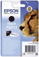 EPSON Inkjetpatrone T0711 schwarz C13T07114012 7,4ml