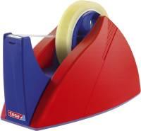 TESA Tischabroller 66m 25mm rot/blau 57422-00000-02 EasyCut Profess.