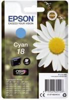 EPSON Inkjetpatrone Nr. 18 cyan C13T18024012 3,3ml