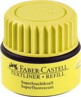 FABER CASTELL Nachfüllflasche gelb 154907
