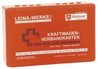 LEINA-WERKE KFZ-Verbandkasten Standard rot 10005