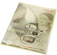 4100 Sichthülle Premium, A4, PVC, dokumentenecht, gelb