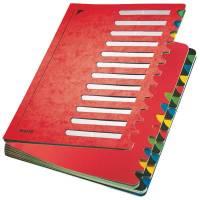 5914 Deskorganizer Color 1 24 24 Fächer, Karton, rot