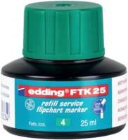 EDDING Nachfülltusche FTK25 grün 4-FTK25004
