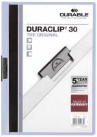 DURABLE Klemmmappe Duraclip A4 hellblau 2200 06 30BL