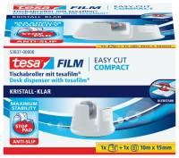 TESA Tischabroller 19mm 33m weiß 53837-00000-01 EasyCut