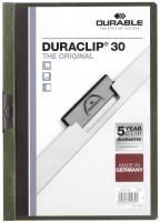 DURABLE Klemmmappe Duraclip A4 petrol 2200 32 30 Blatt