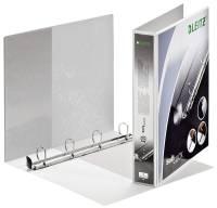 4202 Ringbuch SoftClick, A4, mit Taschen, 4 Ringe, 30 mm, weiß