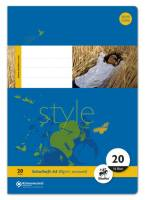 Heft LIN20 A4 16 Blatt 80g qm blanko