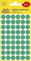 AVERY ZWECKFORM Etiketten Ø12 mm grün 270 Stück 3143